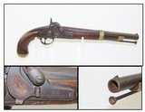 CIVIL WAR Antique U.S. SPRINGFIELD M1855 Maynard Percussion PISTOL-CARBINE 1 of ONLY 4,021; FIRST YEAR PRODUCTION