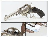 "1880s Antique BELGIAN BULLDOG Type ""FRONTIER"" .44-40 WCF Revolver Dumoulin 6-Shot Double Action Full-Size Revolver!"