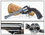 FINE H&R Top Break .38 S&W REVOLVER & MONTGOMERY WARD HOLSTER C&R With Vintage Gun Leather from the Early 1900s!