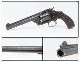 RARE Japanese .44 RUSSIAN SMITH & WESSON New Model No. 3 FRONTIER Revolver c1886 Antique S&W Factory Converted from .44-40 to .44 Russian!