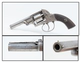 BRITISH Antique TRANTER Type Revolver by J. MARKS of WINCHESTER, ENGLAND 35 Double Action Revolver from the UK!