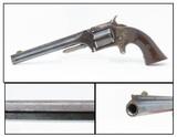 RARE Belgian-Made SMITH & WESSON No 2 OLD ARMY Revolver .32 Rimfire Antique European S&W Revolver!
