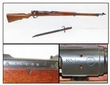 EMPIRE of JAPAN World War II PACIFIC THEATER Kokura Type 38 C&R RIFLE Circa 1935 with BAYONET & SHEATH & MUM!