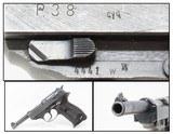 "WORLD WAR II Nazi German ""SPREEWERKE"" cyq Code P.38 Semi-Auto C&R Pistol Wermacht 9x19mm Sidearm!"