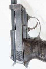 "WORLD WAR II Nazi German ""SPREEWERKE"" cyq Code P.38 Semi-Auto C&R Pistol Wermacht 9x19mm Sidearm! - 19 of 20"