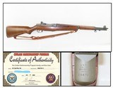 """SPRINGFIELD Barrel/Receiver M1 GARAND .30-06 Infantry Rifle Dated 12-50 """"The greatest battle implement ever devised""""- George Patton"""
