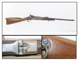 """Antique U.S. SPRINGFIELD ARMORY Model 1884 """"TRAPDOOR"""" Saddle Ring CARBINE Chambered in the Original .45-70 GOVT"""