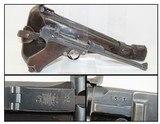 1915 ARTILLERY LUGER DWM Model 1914 Pistol Stock & Holster Rig WORLD WAR I Scarce 8-Inch Barreled Pistol w Detachable Shoulder Stock!