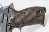 WORLD WAR II Nazi German SPREEWERKE cyq Code P.38 Pistol Bringback WW2 C&R British Proofed, Likely Brit Bringback - 21 of 23