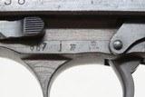 WORLD WAR II Nazi German SPREEWERKE cyq Code P.38 Pistol Bringback WW2 C&R British Proofed, Likely Brit Bringback - 17 of 23