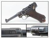 1915 WORLD WAR I LUGER DWM 9x19mm Parabellum GERMAN MILITARY Pistol WW1 Iconic WWI German Military Sidearm!