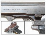 """""""EAGLE/37"""" WaffenAmt J.P. SAUER & SOHN Model 38H WW2 German ARMY PISTOL Scarce 2nd Wehrmacht Variation with Holster!"""