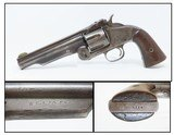 "CUT DOWN 5 3/8"" Antique SMITH & WESSON No. 3 AMERICAN 1st Model Revolver Single Action .44 S&W AMERICAN! - 1 of 18"