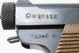 1944 WW II Imperial Japanese NAGOYA Type 14 NAMBU Semi-Automatic Pistol C&R World War II Pacific Theater Sidearm! - 16 of 20