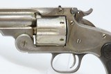 .44 Russian AUSSIE Contract SMITH & WESSON New Model No. 3 Revolver Antique With Australian Leather Flap Holster! - 7 of 21