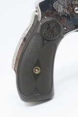 """Antique SMITH & WESSON .38 S&W Hammerless LEMON SQUEEZER 5-Shot Revolver Conceal Carry with """"Z-Bar"""" Latch! - 16 of 18"""