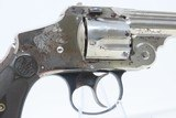 """Antique SMITH & WESSON .38 S&W Hammerless LEMON SQUEEZER 5-Shot Revolver Conceal Carry with """"Z-Bar"""" Latch! - 17 of 18"""