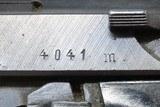 "WORLD WAR II Nazi German SPREEWERKE ""cyq"" Code P.38 Pistol 9x19 Luger C&RWW2 German ""Wehrmacht"" 9mm Sidearm! - 6 of 20"