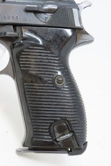 "WORLD WAR II Nazi German SPREEWERKE ""cyq"" Code P.38 Pistol 9x19 Luger C&RWW2 German ""Wehrmacht"" 9mm Sidearm! - 3 of 20"
