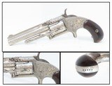 ENGRAVED Antique SMITH & WESSON Number 1 1/2 2nd Issue .32 Caliber Rimfire REVOLVER