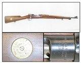 1942 HUSQVARNA MAUSER Model 1896 Long RIFLE 6.5x55mm Swedish Military C&RMid-WORLD WAR II Rifle for CIVILIAN MARKSMANSHIP TRAINING