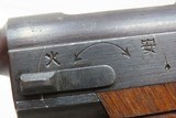 1943 WWII Trophy Imperial Japanese NAGOYA Type 14 NAMBU 8x22mm Pistol C&RPacific Theater AXIS Sidearm in Reed Basket Case! - 9 of 22