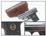 "Rare MENZ ""LILIPUT"" Model 1925 Model 1 Pistol .25 ACP 6.35mm C&R WERWOLF Like Those Issued to German WERWOLF Resistance!"