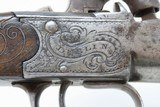 BRACE of DUBLIN, IRISH Antique H. HOLMES Percussion BOXLOCK Belt Pistols CLASSY Pair of Pistols from IRELAND! - 15 of 25