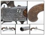 BRACE of DUBLIN, IRISH Antique H. HOLMES Percussion BOXLOCK Belt Pistols CLASSY Pair of Pistols from IRELAND! - 1 of 25