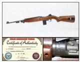 WORLD WAR II U.S. STANDARD PRODUCTS M1 Carbine .30 Caliber Light Rifle WW2 1943 Dated Barrel for World War II - 1 of 20