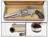 Antique SMITH & WESSON Number 1 1/2 2nd Issue .32 Caliber Rimfire REVOLVER