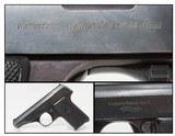 1920s German WALTHER Model 8 FIRST VARIANT 6.35x16mm Pistol C&R Weimar-Era Concealable Pistol!