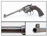 Fine 1903 COLT Double Action .32 NEW POLICE 6-Shot REVOLVER C&R Selected by NYC Police Commissioner TEDDY ROOSEVELT!