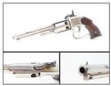 CIVIL WAR Antique SAVAGE .36 Caliber NAVY Percussion SINGLE ACTION Revolver Unique Two-Trigger Revolver