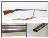 "L.C. SMITH/HUNTER ARMS Grade ""F"" Double Barrel 12 GAUGE C&R Hammer SHOTGUNTURN OF THE CENTURY Sporting/Hunting Shotgun"