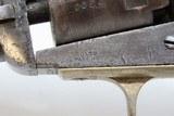 Post-CIVIL WAR Antique COLT Model 1849 POCKET .31 Cal. PERCUSSION RevolverHandy WILD WEST FIVE-SHOT Made In 1869 - 7 of 21