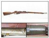 """FINNISH-SOVIET Continuation War/WORLD WAR II VKT Model1891 Mosin-Nagant C&R 1942 Dated w VKT """"D"""" Barrel-FULL LENGTH"""