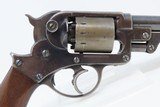 CIVIL WAR Antique STARR ARMS Model 1858 Army 44 Caliber PERCUSSION Revolver EARLY LOW SERIAL NUMBER - 19 of 20