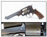 CIVIL WAR Antique STARR ARMS Model 1858 Army 44 Caliber PERCUSSION Revolver EARLY LOW SERIAL NUMBER - 1 of 20