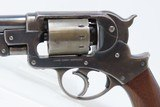 CIVIL WAR Antique STARR ARMS Model 1858 Army 44 Caliber PERCUSSION Revolver EARLY LOW SERIAL NUMBER - 4 of 20