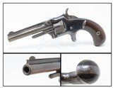 """""""OLD WEST"""" Antique SMITH & WESSON No. 1 Third Issue SPUR TRIGGER Revolver19th Century POCKET CARRY for the Armed Citizen"""