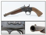 US NAVY Antique REMINGTON Model 1867 ROLLING BLOCK Action 50 Caliber Pistol