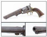 ANTEBELLUM Antique COLT Model 1849 POCKET .31 Caliber PERCUSSION RevolverFourth Year Production Manufactured In 1853! - 1 of 19