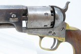 1863 CIVIL WAR Antique COLT Model 1851 NAVY .36 Caliber PERCUSSION Revolver Manufactured in 1863 in Hartford, Connecticut! - 4 of 22