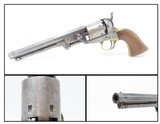 1863 CIVIL WAR Antique COLT Model 1851 NAVY .36 Caliber PERCUSSION Revolver Manufactured in 1863 in Hartford, Connecticut! - 1 of 22