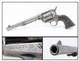 """.38-40 WCF COLT SAA PEACEMAKER Single Action Army REVOLVER 1st Gen Antique 7-1/2"""" .38 Winchester Made in 1898!"""