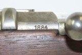 Antique St. Denis URUGUAYAN CONTRACT Bolt Action DAUDETEAU DOVITIIS RifleOriginally an 11mm Mauser Model 1871! - 7 of 20
