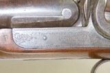 Antique J.S. TROWBRIDGE & Co. Percussion SxS Double Barrel HAMMER ShotgunEngraved ENGLISH Double Barrel Fowling Gun - 6 of 21