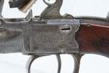 c1810 English WALKLATE Antique FLINTLOCK Pistol .44 Caliber London Birmingham Early-1800s Self Defense Belt Pistol! - 5 of 17