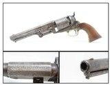 1855 mfr. Antique CIVIL WAR Era COLT DRAGOON .44 PERCUSSION RevolverAntebellum Horse Pistol; One of 10,500!